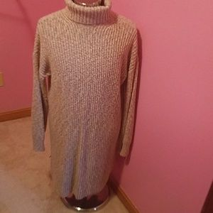 Womens extra long sweater